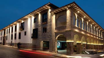 Details about the JW Marriott Hotel Cusco.